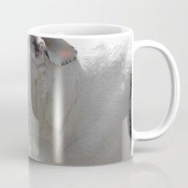 Stafford Mongrel White Dog Coffee Mug