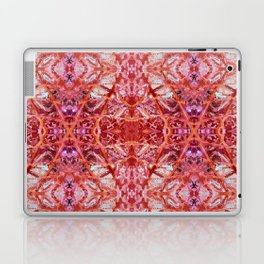 114- Large red and purple pattern Laptop & iPad Skin
