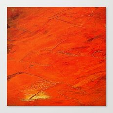 Glazed Terracotta Canvas Print