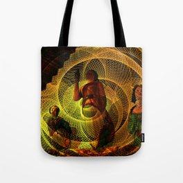 The three figureheads Tote Bag