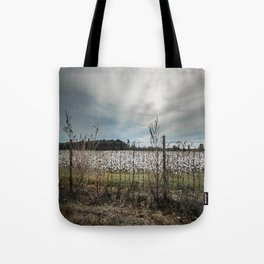 Florida Cotton Fields  Tote Bag