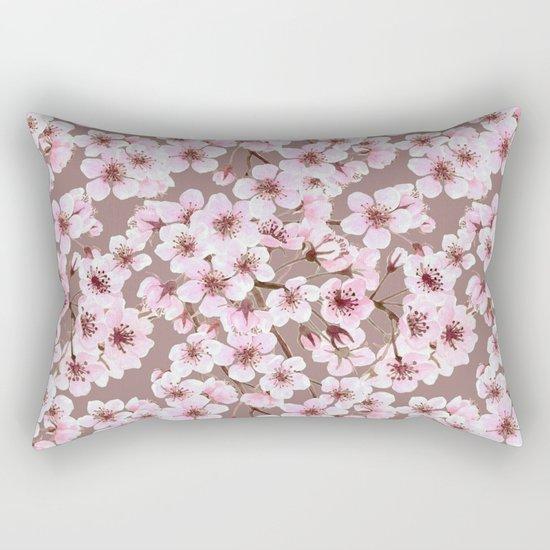 Cherry blossom pattern Rectangular Pillow