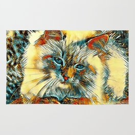 AnimalArt_Cat_20170907_by_JAMColorsSpecial Rug