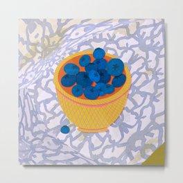New Blueberries Metal Print