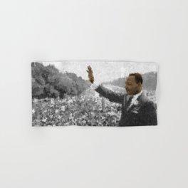 Martin Luther King Junior Wall Art Portrait, Speech, Home Decor, Dorm Decor, Freedom, Hand & Bath Towel