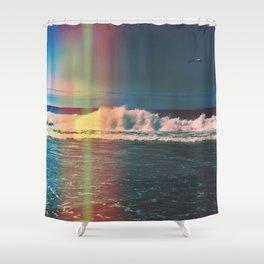 California Light Leak  Shower Curtain