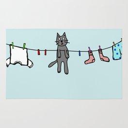 Hanging kitty Rug