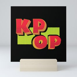 K-Pop South Korea Mini Art Print