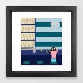 Gin o' Clock Framed Art Print