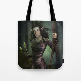 Fay in the forest Tote Bag