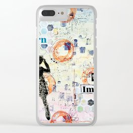 Artist Unlimited Clear iPhone Case