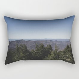 Mount Mitchell View Rectangular Pillow