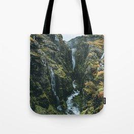 Glymur Falls Tote Bag