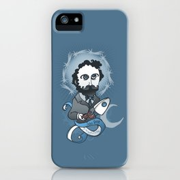 Jules Verne Holy Writer iPhone Case