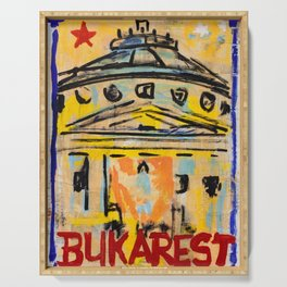 European Capital - Bukarest Serving Tray