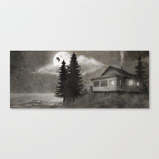 Owl Lake  Canvas Print