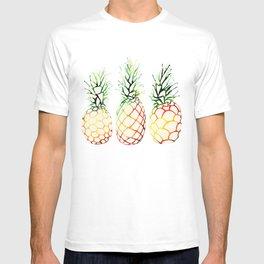 Burlap Pineapples T-shirt