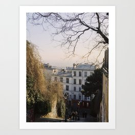 Montmartre Views Art Print