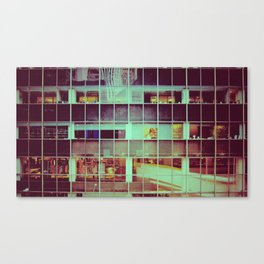 Vintage NYC Windows Canvas Print