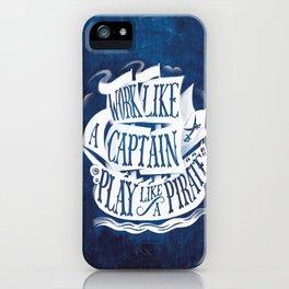 like a pirate iPhone Case