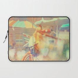 Seaside Town Laptop Sleeve