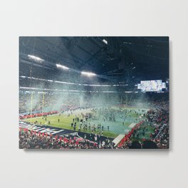 Super Bowl LII Metal Print