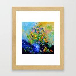 Colourful still life Framed Art Print