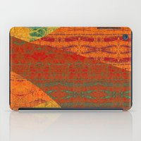 banana leaf iPad Cases featuring Rakhi Banana Leaf with Red by Pistachia