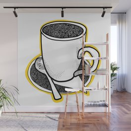 Coffee Cup Wall Mural