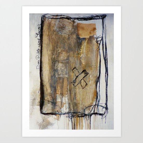 injured Art Print