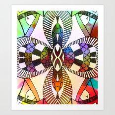Ubiquitous Bird Collection8 Art Print