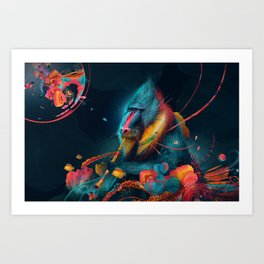 color madril Art Print