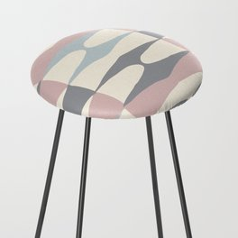 Zaha Pastel Counter Stool