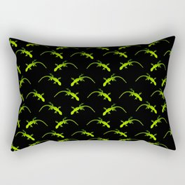 Tessellating Geckos Rectangular Pillow