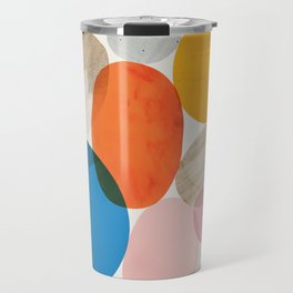 Abstraction_Pebbles_002 Travel Mug