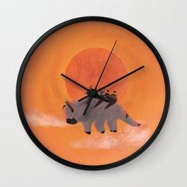 Appa: Under the Sun Wall Clock