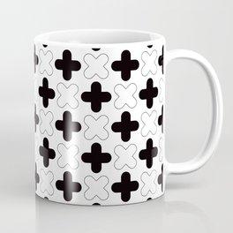 Geometric Pattern 248 (crosses) Coffee Mug