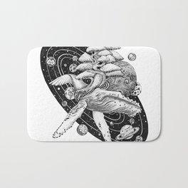Space Whale Bath Mat