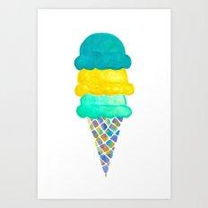 Ice Cream Art Print