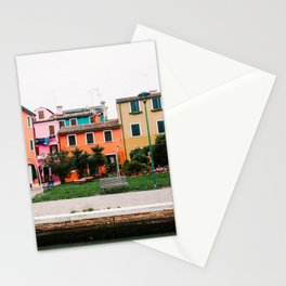 Color house | Italy | Venice | travel photography Stationery Cards