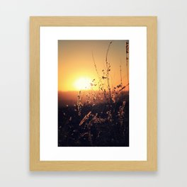 Sunset in Payson II Framed Art Print