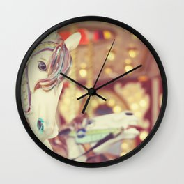 Kid at heart Wall Clock