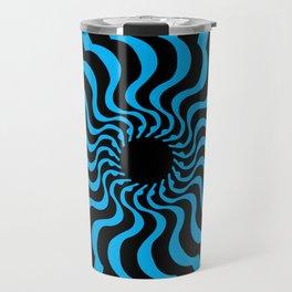 EYE 2(BLACK/BLUE) Travel Mug