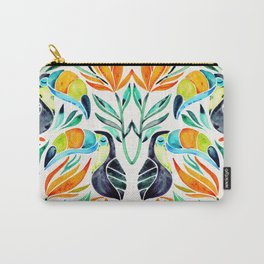 Tropical Toucans Carry-All Pouch
