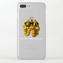 The Wal Nutty Professor Clear iPhone Case