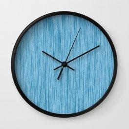 blue color 1 Wall Clock