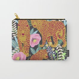 The leopard at night, leopard print, animal print Carry-All Pouch