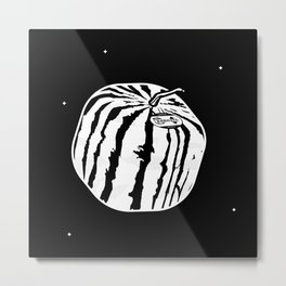 Square watermelon Metal Print