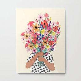Foral Bouquet Metal Print