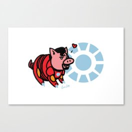 Iron Ham Canvas Print